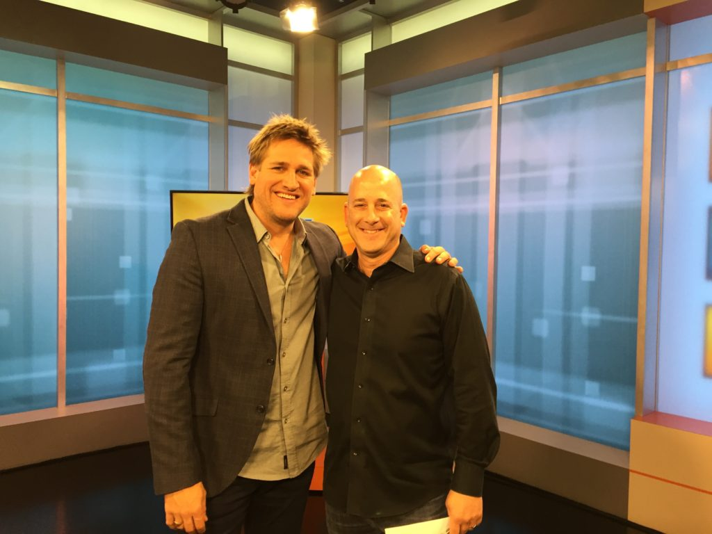 with chef Curtis Stone